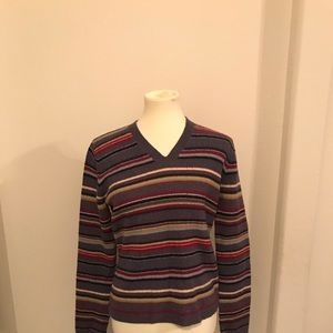 J. Crew multi-color sweater